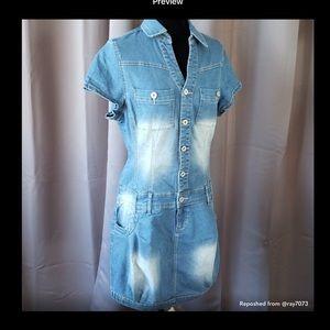 Venus sexy jean dress